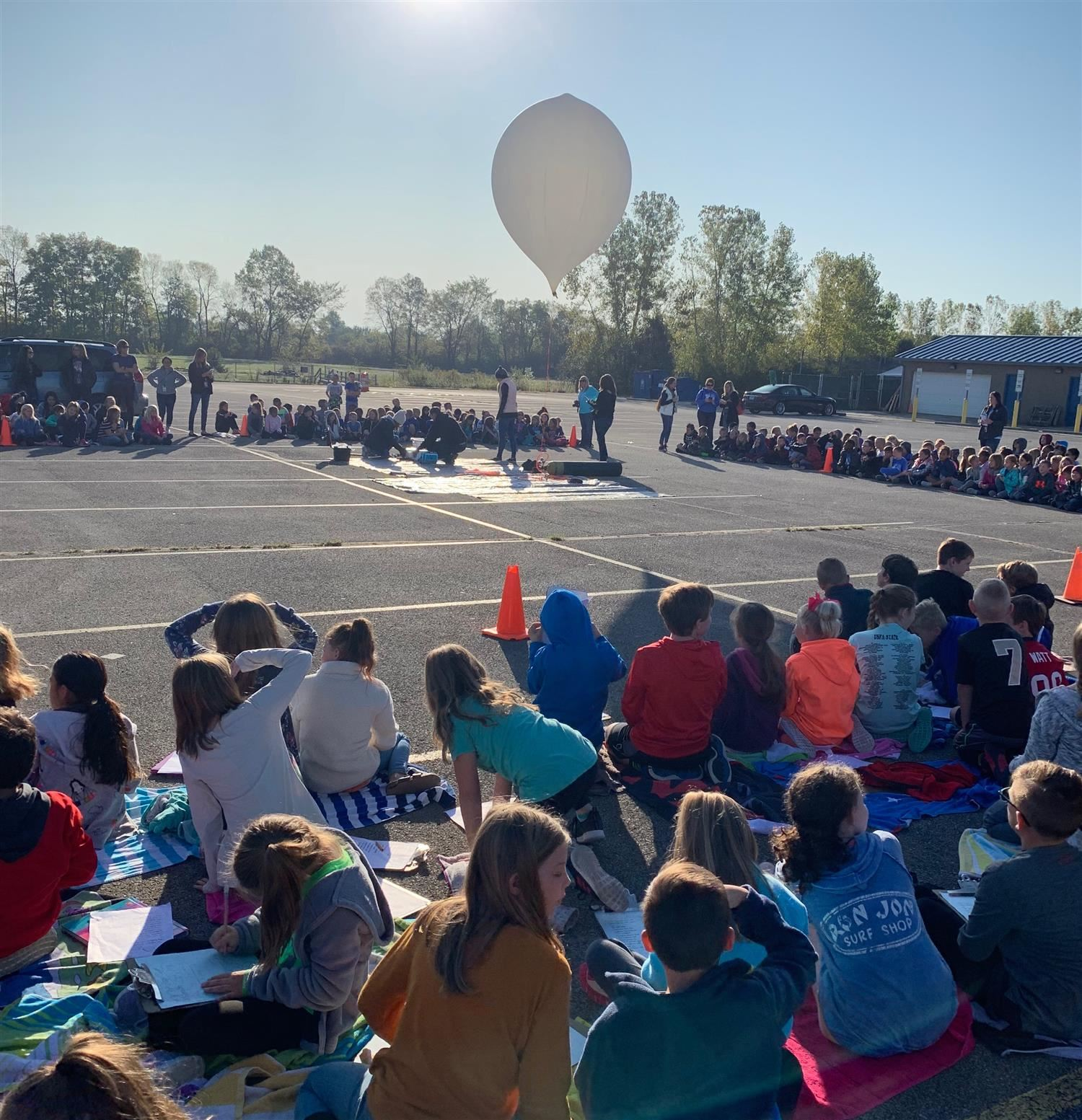 STEM Balloon Launch