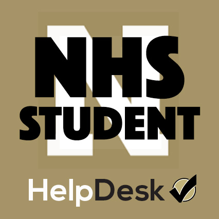 NHS Student Icon