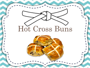 Hot Cross Buns - White Belt
