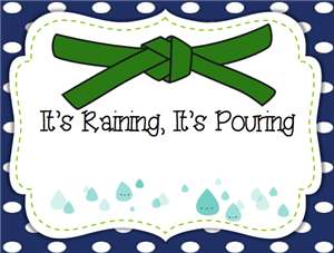 Its Raining Its Pouring - Green Belt
