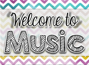 Welcome to Music!
