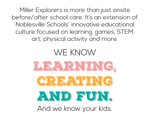 We know learning, creating and fun.