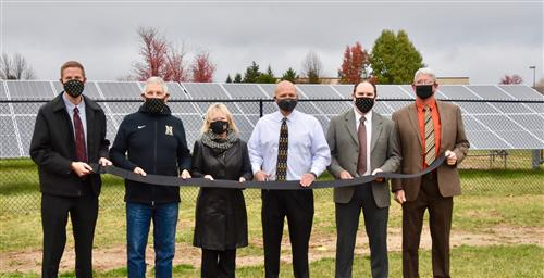 Solar Ribbon Cutting