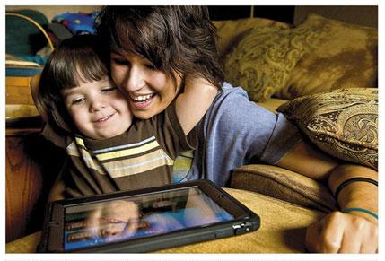 parent and child tablet