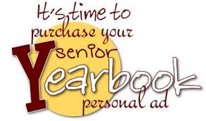 Senior Yearbook Ads can be purchased through Jostens