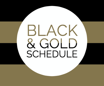 2019-20 Black and Gold Schedule