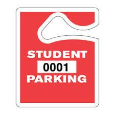 NHS Parking Tags for 2017-18